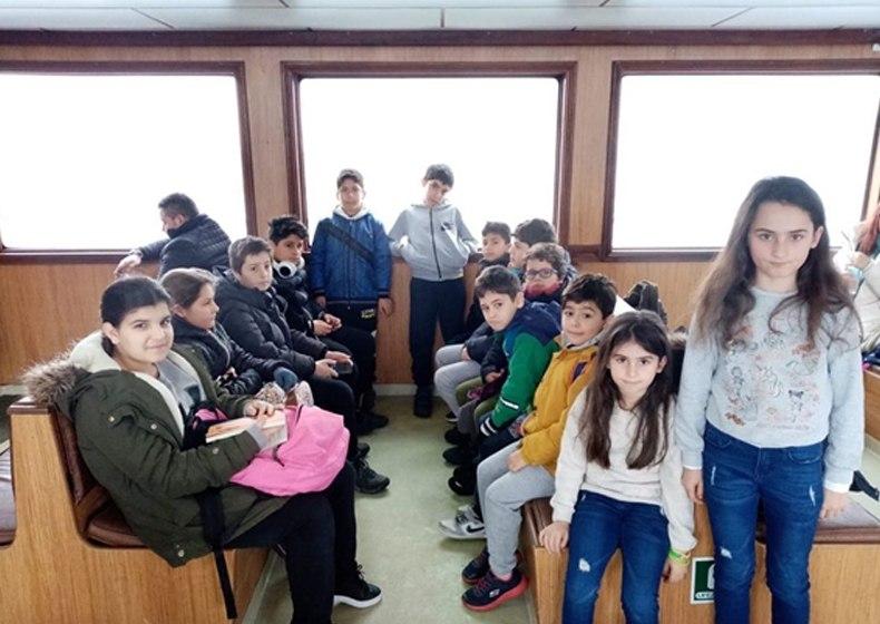 Burgazada'lı çocuklarımızı spor ile buluşturuyoruz…