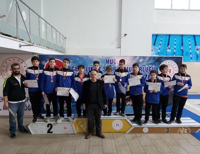 ANALİG Sutopu Müsabakalarında ASSK Sporcuları