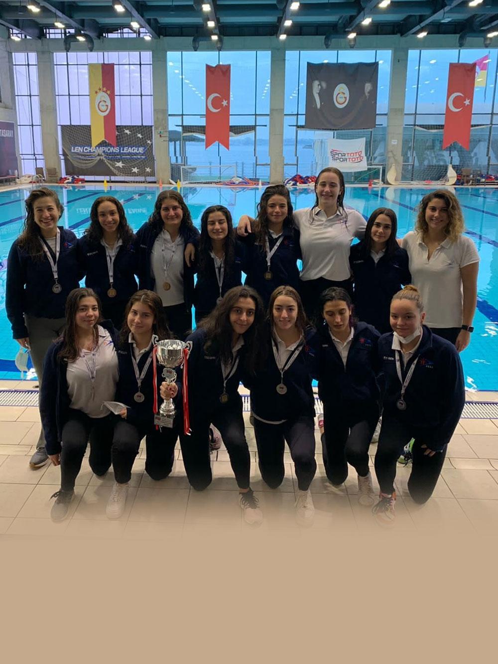 ASSK Kadın Sutopu Takımımız Federasyon Kupası 2.'si oldu.