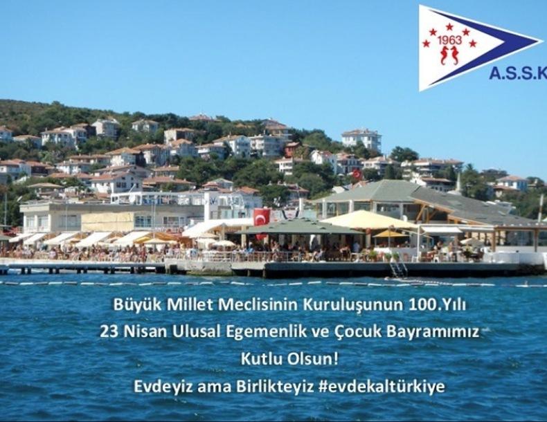 Türkiye Büyük Millet Meclisinin Kuruluşunun 100. Yılı Kutlu olsun!