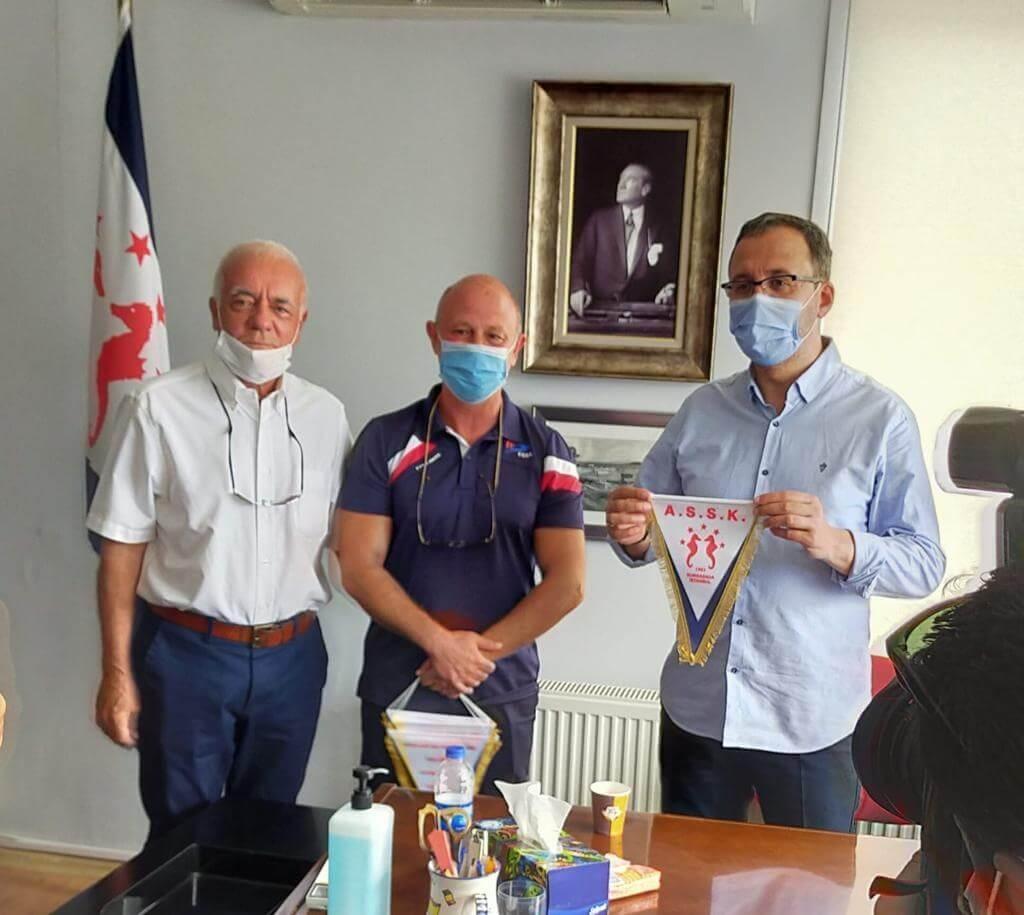 Gençlik ve Spor Bakanımız Kulübümüzü Ziyaret Etti